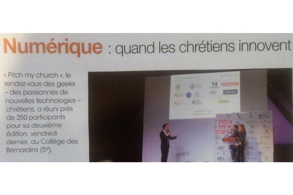 PARIS NOTRE DAME : Numérique, quand les chrétiens innovent