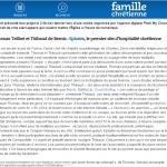 FAMILLE CHRETIENNE : Les nouvelles applis cathos
