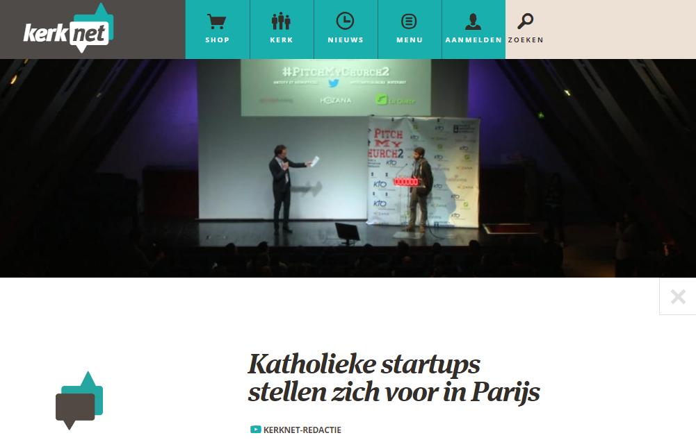 KERKNET : Katholieke startups stellen zich voor parijs